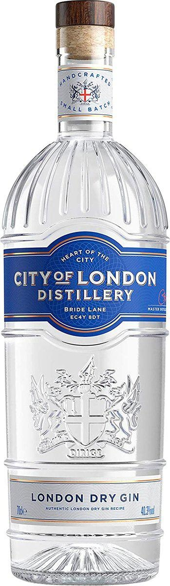 City of London Authentic London Dry Gin 41,3° cl.70