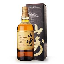 The Yamazaki 12 Years Single Malt 43° cl.70 Astuccio Japanese Whisky